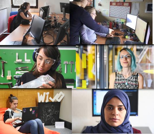 favoriser l'emploi des femmes dans le numérique à Lille
